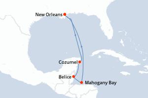 Cruceros Carnival Glory : Tarifas y promociones 2020 ...