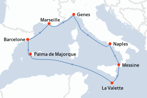 MSC Grandiosa (MSC Croisières) : Croisières 2020 – 2021 ...