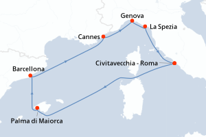 Crociere Mediterraneo a aprile 2021 : Offerte, Promo, info...