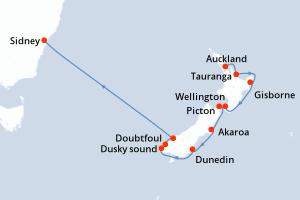 Crucero Con Salida Desde Auckland Promociones Ofertas